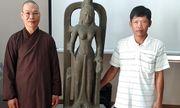 Phát hiện tượng nữ thần cổ trị giá 7,5 tỷ đồng trên sông Cổ Chiên