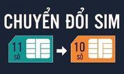 Ngày mai (15/11), người dùng không thể liên lạc với thuê bao 11 số