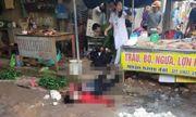 Nghi phạm bắn gục cô gái bán đậu giữa chợ đã tử vong