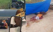 Ngồi nghỉ ngơi trước xe lu, nữ công nhân 38 tuổi bị nghiền nát người