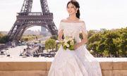Á hậu Thanh Tú đẹp như công chúa trong bộ ảnh cưới giữa Paris hoa lệ