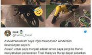 CĐV Malaysia bán cả