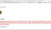 Vừa mở bán vé trận chung kết AFF Cup Việt Nam - Malaysia, các trang web của VFF đã