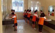Tình trạng quá tải nhà vệ sinh trường học đã được cải thiện