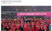 FIFA so sánh bóng đá Việt Nam với các \