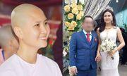 Xôn xao nghi vấn người đẹp Nguyễn Thị Hà bị tố vô ơn, giật chồng sau 2 tháng xuống tóc đi tu