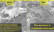 Israel tung ảnh vệ tinh chứng minh kho tên lửa đạn đạo Iran ở Syria tan tành