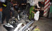 Danh tính nạn nhân vụ xe container đâm hàng loạt xe máy, 4 người chết ở Long An