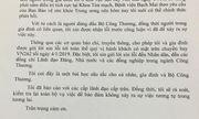 Bộ trưởng bộ Công Thương Trần Tuấn Anh gửi thư xin lỗi tới toàn thể nhân dân