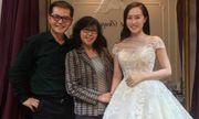 Cô dâu trẻ hơn NSND Trung Hiếu 19 tuổi ngọt ngào thử váy cưới trước hôn lễ