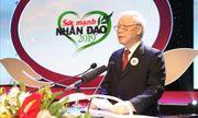 Tổng Bí thư, Chủ tịch nước Nguyễn Phú Trọng: Làm đẹp thêm truyền thống nhân ái của dân tộc