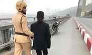 Buồn chuyện gia đình, một phụ nữ ra cầu Bãi Cháy tự tử