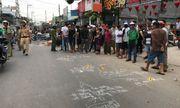 TP.HCM: 2 thanh niên chết thảm dưới bánh xe chở rác sau va chạm