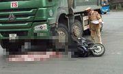 Xe máy va chạm xe tải, cháu bé 2 tuổi tử vong thương tâm