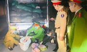 Thanh Hóa: 1,7 tấn bì lợn không rõ nguồn gốc bị bắt giữ