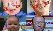 Ngắm loạt em bé có ngoại hình giống HLV Park Hang-seo đến ngỡ ngàng