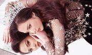 Hoa hậu Diệu Linh đẹp kiêu kỳ trong bộ ảnh đón Tết