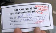 """Hà Nội: Đi hội Phủ Dầy cầu may, du khách gửi xe bị """"chặt chém"""" gấp 5 lần ngày thường?"""