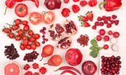 Lợi ích sức khỏe từ những loại trái cây, rau củ màu đỏ