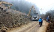 Bắc Kạn: Dự án đường hơn 800 tỷ đồng, nhà thầu đổ hàng nghìn m3 đất thải không đùng quy đinh