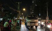 Người phụ nữ bị xe bồn chở nước cán tử vong trong đêm lễ tình nhân