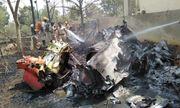 Hai máy bay phản lực đâm nhau khi trình diễn trên không, phi công tử nạn