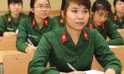 Tiêu chuẩn xét tuyển sinh vào khối trường quân đội năm 2019