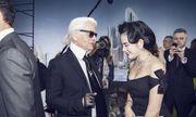 Tiết lộ người đẹp Việt hiếm hoi được trò chuyện với Karl Lagerfeld