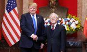 Trên chuyên cơ bay về Mỹ, Tổng thống Donald Trump gửi lời cảm ơn người dân Việt Nam