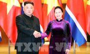 Chủ tịch Quốc hội Nguyễn Thị Kim Ngân hội kiến với Chủ tịch Triều Tiên Kim Jong-un