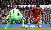 Bất ngờ hòa trước Everton, Liverpool mất ngôi đầu bảng