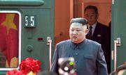 """Triều Tiên công bố những hình ảnh """"độc"""" về chuyến thăm Hà Nội của nhà lãnh đạo Kim Jong-un"""