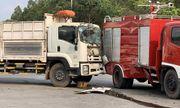 Tin tai nạn giao thông mới nhất ngày 9/3/2019: Xe cứu hỏa bị xe tải húc, chiến sĩ PCCC bị thương