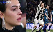 Bạn gái bật khóc nhìn Ronaldo tỏa sáng, lập kỷ lục ở Champions League