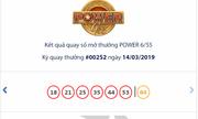 Kết quả xổ số Vietlott hôm nay 16/3/2019: Jackpot