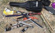 Bình Dương: Bắt nhóm thanh niên chuẩn bị súng, lựu đạn đi thanh toán đối thủ