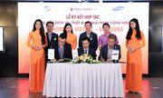 Hai ông lớn Viettel và Samsung bắt tay hợp tác với website BĐS Cenhomes.vn