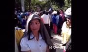 Video: Vợ Bùi Văn Công tỉnh bơ kể việc phát hiện thi thể nữ sinh giao gà