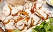 Món ngon mỗi ngày: Lạ miệng với thịt heo hấp hành gừng nóng hổi ngày lạnh trời
