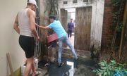 Đan Phượng - Hà Nội: Dân khổ sở chống chọi với ngập lụt, ứ đọng nước thải sinh hoạt