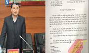 Lào Cai: Công an tỉnh cần phải tôn trọng văn bản chỉ đạo của Chủ tịch UBND tỉnh theo tinh thần thượng tôn pháp luật