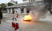 Bệnh viện Lao và Bệnh Phổi tỉnh Phú Thọ: Đảm bảo an toàn và chấp hành nghiêm chỉnh luật phòng cháy, chữa cháy