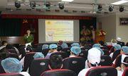 Trung tâm Y tế huyện Thanh Ba tập huấn nghiệp vụ công tác phòng cháy chữa cháy năm 2019