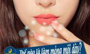 Phẫu thuật thu mỏng môi - Môi xinh quyến rũ