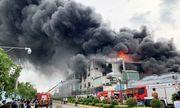 Vụ hỏa hoạn tại khu công nghiệp ở Bình Dương: Thiệt hại ước tính khoảng 30 tỉ đồng