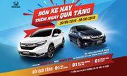 Honda Việt Nam triển khai chương trình khuyến mãi 'Đón xe hay, thêm ngay quà tặng'