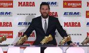 Messi lần thứ 6 giành danh hiệu Chiếc giày Vàng Châu Âu