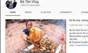 'Bà Tân Vlog' tiếp tục lập thành tích 'khủng', lọt top 3 YouTube tăng sub nhanh nhất thế giới