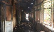 Hỏa hoạn thiêu rụi 7 gian nhà kho nghiên cứu dâu tằm ở Lâm Đồng