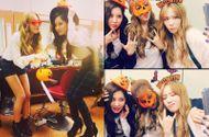 Ngôi Sao - SNSD khoe ảnh hóa trang đậm chất Halloween